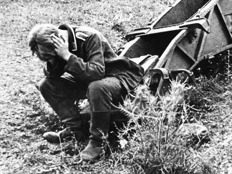Soldado alemán, Región de Kursk