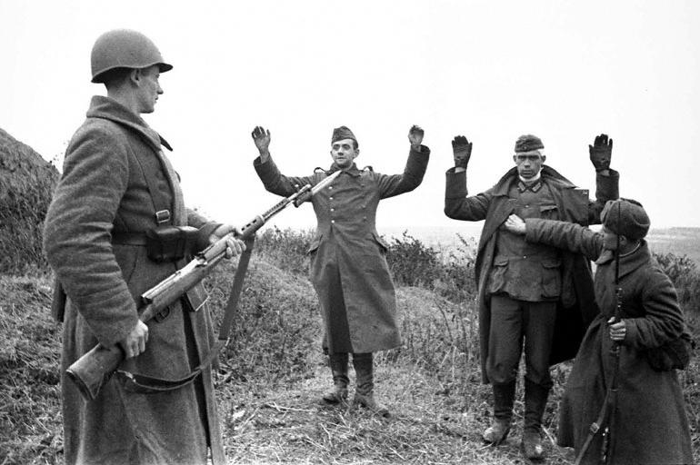 Captura de soldados nazi, 1941 Autor: Oleg Knorring