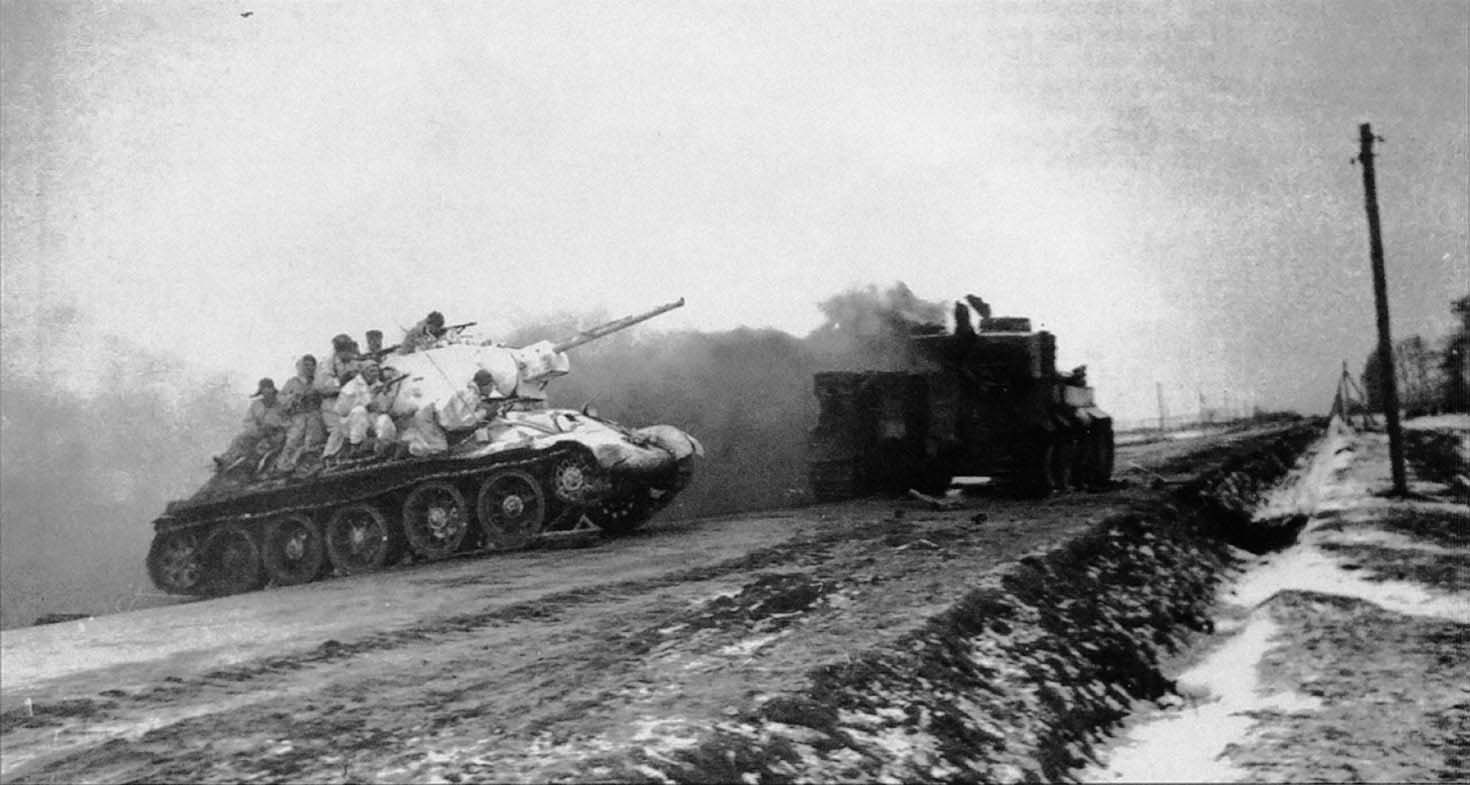La batalla de Korsun-Cherkassy (Ucrania, margen derecho, enero-febrero de 1944)