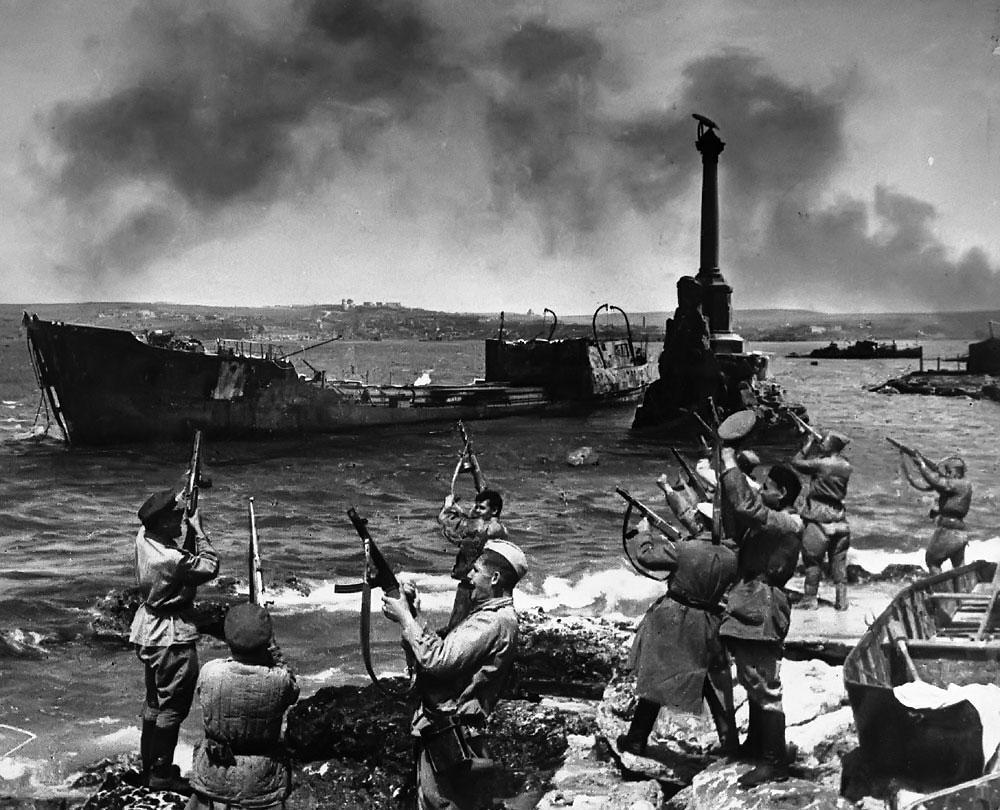 La liberación de Sebastopol (9 de mayo de 1944)