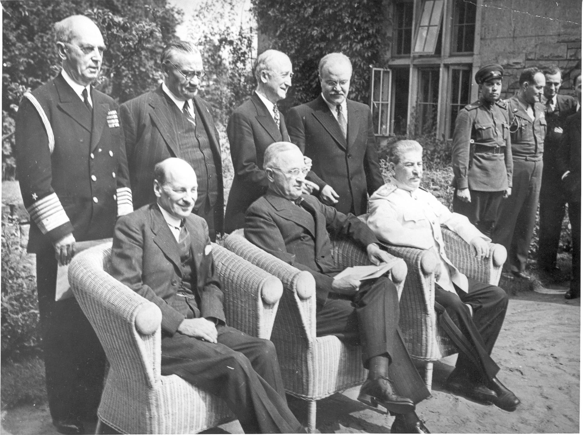 Потсдам. конф. (с министрами) 1945