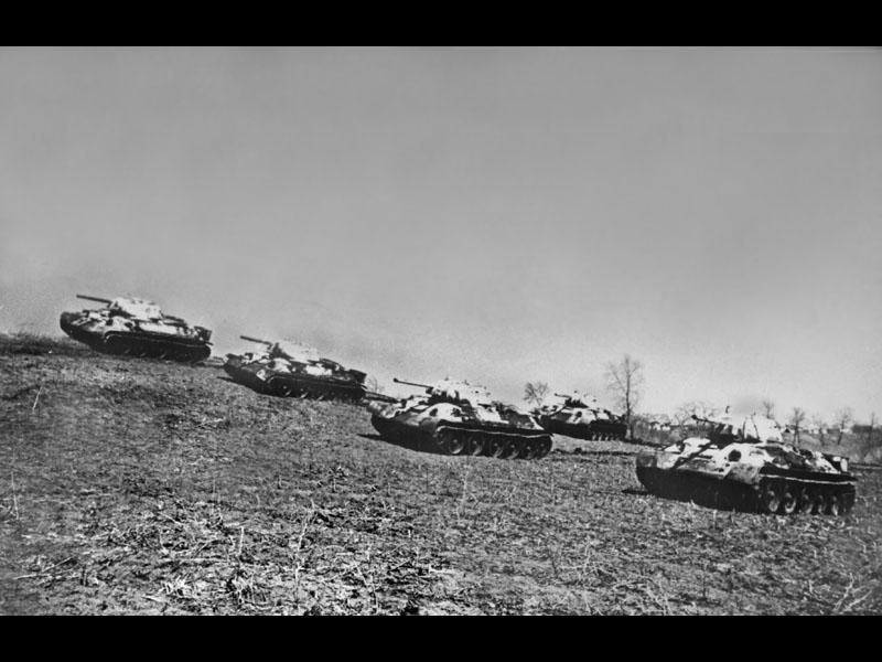 Советские танки, апрель 1943 г.