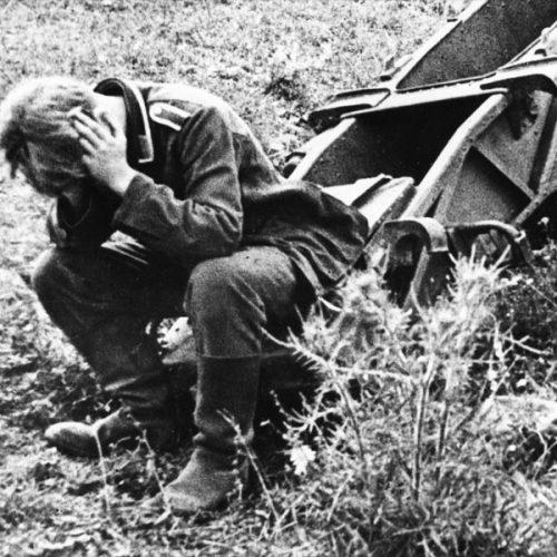 Немецкий солдат, Курская область