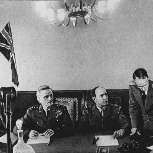 Подписание Акта о капитуляция Германии