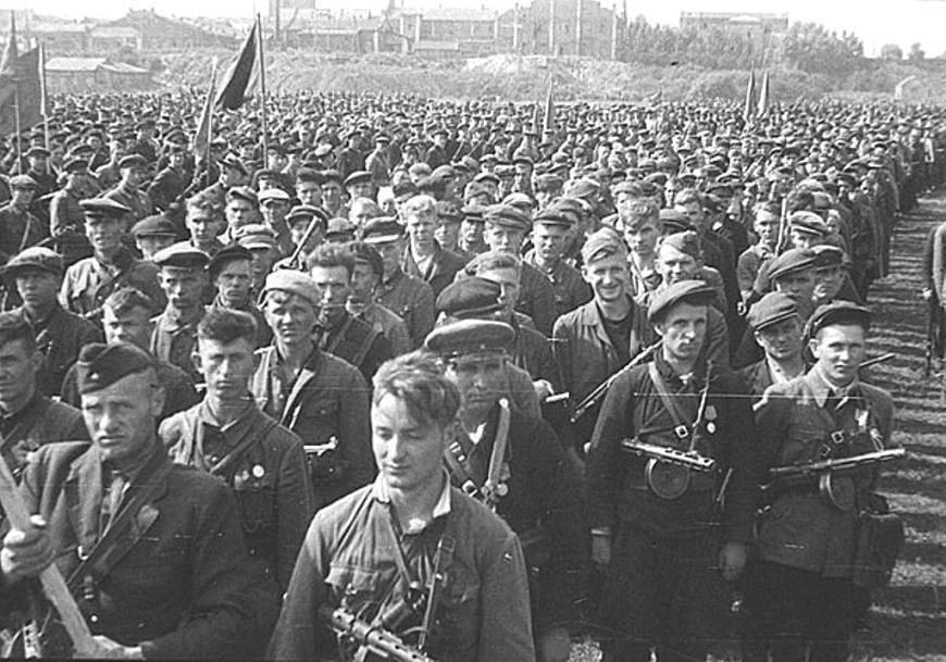 Партизанский парад в Минске
