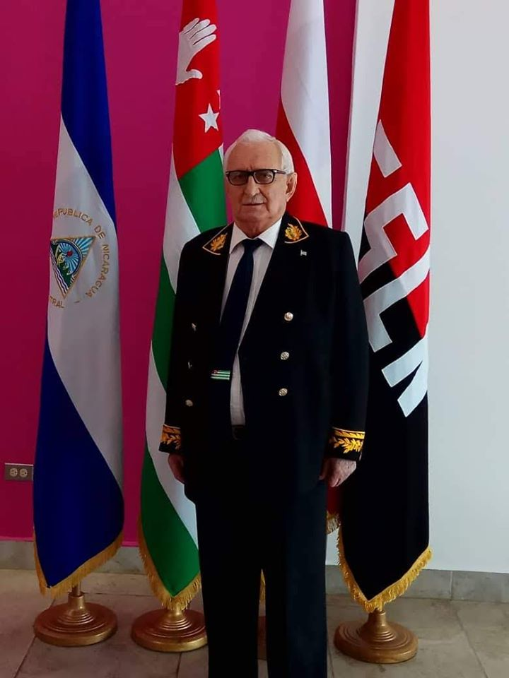 Встреча Посла Абхазии  Заура Гваджава в международном вэропорту Никарагуа