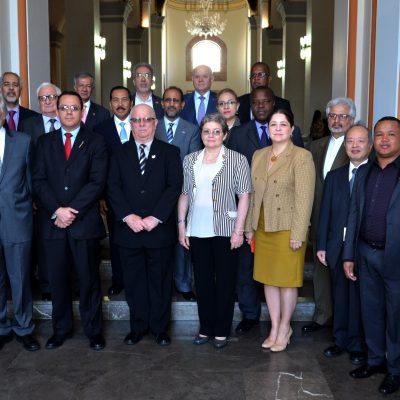 Мероприятие посольства Никарагуа в национальном пантеоне