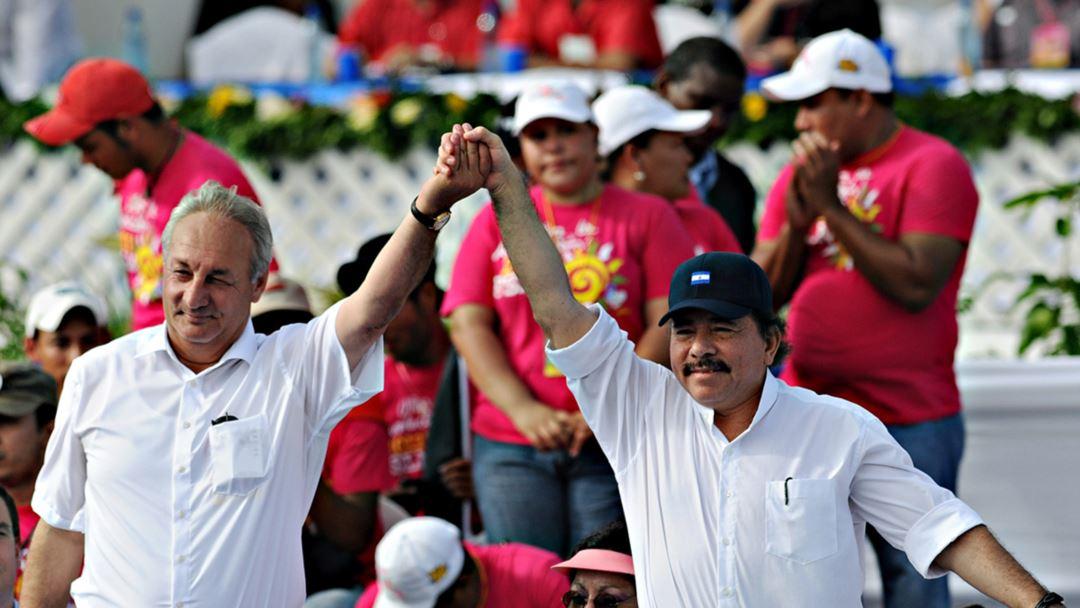 Президент Республики Абхазия Сергей Багапш и президент Республики Никарагуа Даниэль Ортега